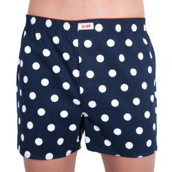 Pánské trenky Gosh modré s velkým bílým puntíkem
