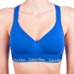 Dámská podprsenka Calvin Klein modrá (QF1654E-PZ6)