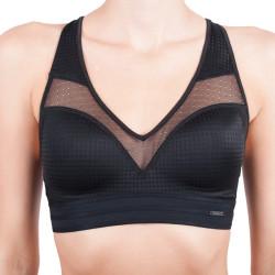 Dámská sportovní podprsenka Calvin Klein Mixed mesh černá