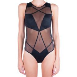 Dámské body Calvin Klein Mixed mesh černé