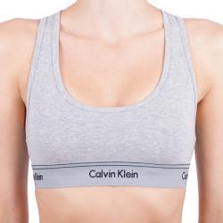 Dámská sportovní podprsenka Calvin Klein Heritage athletic šedá