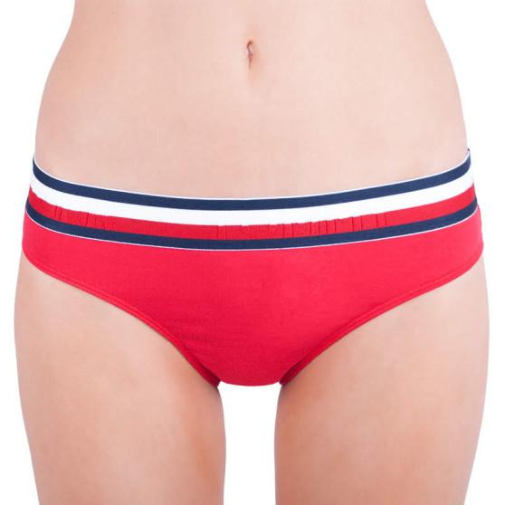 Dámské kalhotky Tommy Hilfiger červené (UW0UW00428 611)