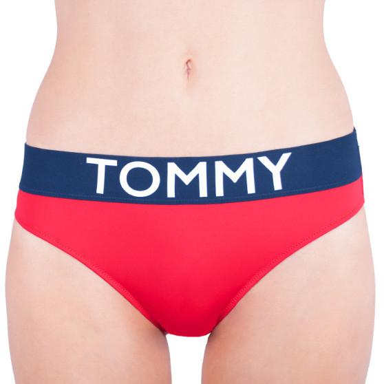 Dámské kalhotky Tommy Hilfiger červené (UW0UW00700 611)