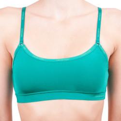 Dámská podprsenka Calvin Klein Youthful lingerie zelená