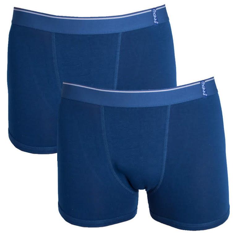 2PACK pánské boxerky Molvy tmavě modré M