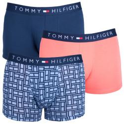 3PACK pánské boxerky Tommy Hilfiger Cotton icon trunk flag barevné