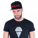 Kšiltovka 69SLAM logo - JP černá