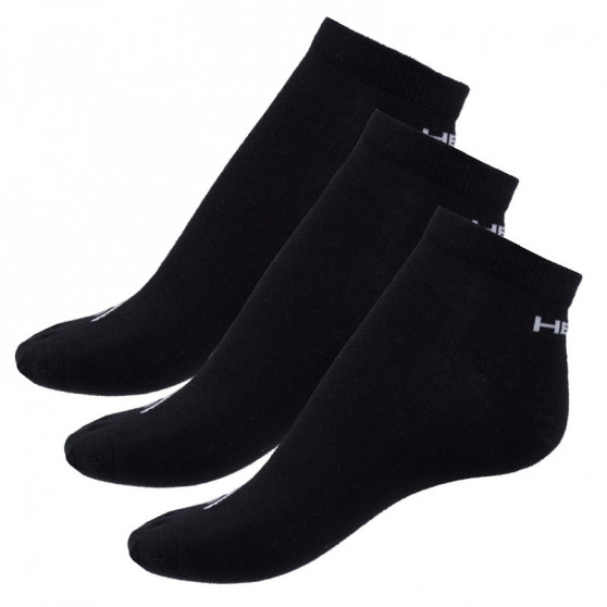 3PACK ponožky HEAD černé (761010001 200)