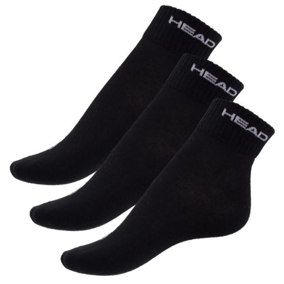 3PACK ponožky HEAD černé (761011001 200)