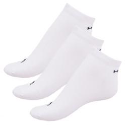 3PACK ponožky HEAD sneaker bílé