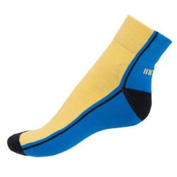Ponožky Infantia Streetline modro žluté