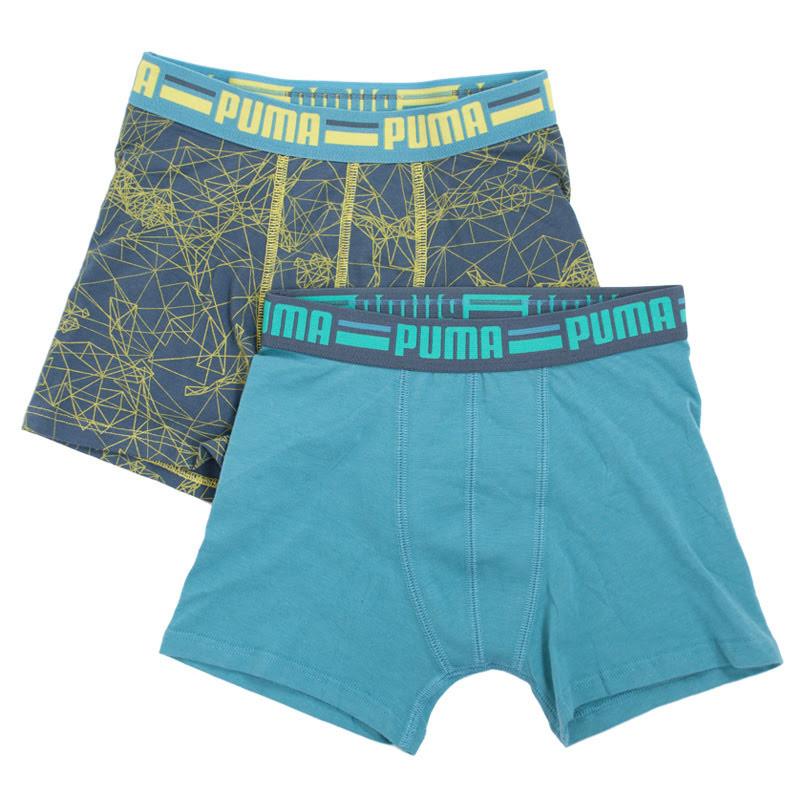 2PACK chlapecké boxerky Puma vícebarevné (555002001 203) 152