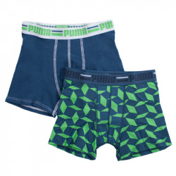 2PACK chlapecké boxerky Puma poison green