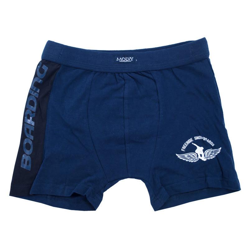 Chlapecké boxerky Molvy tmavě modré boarding 146