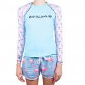 Dámské tričko 69SLAM modré (GRLFCK-PA)