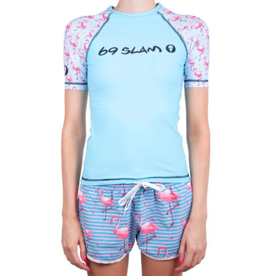 Dámské tričko 69SLAM modré (GRVFCK-PA)