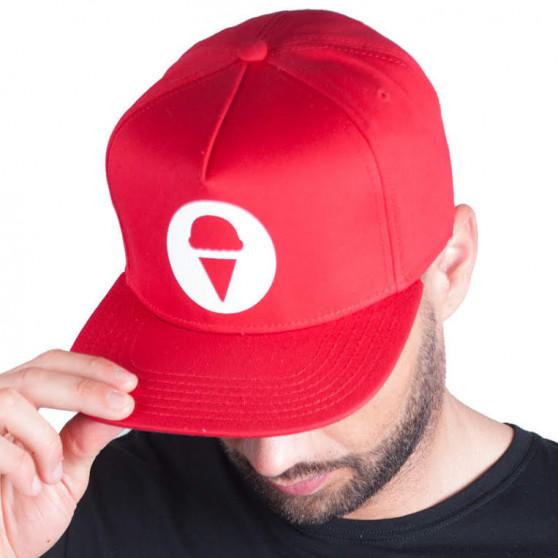 Kšiltovka 69SLAM logo červená