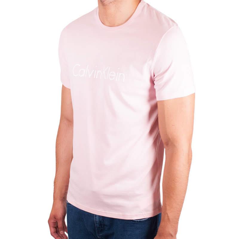 c73b4f81b410 Pánské tričko Calvin Klein růžové (NM1129E-EVK)