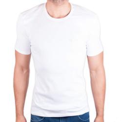 Pánské tričko Calvin Klein bílé (U8320E-100)