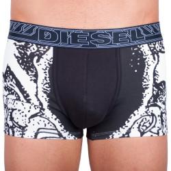 Pánské boxerky Diesel UMBX - Damien černé s bílým potiskem