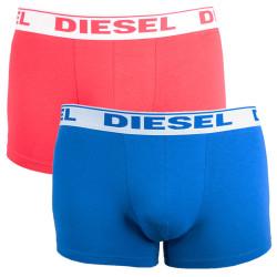 2PACK pánské boxerky Diesel UMBX červeno modré
