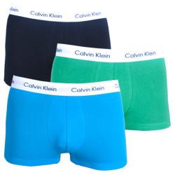3PACK pánské boxerky Calvin Klein krátké ZXD