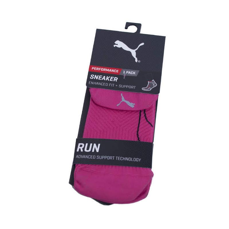 d6ac2ca279f Ponožky Puma tmavě růžové (261005001 818)
