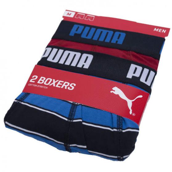 2PACK pánské boxerky Puma vícebarevné (671002001 542)