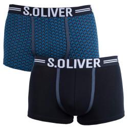 2PACK pánské boxerky S.Oliver vícebarevné (2R.895.97.4251 16D1)
