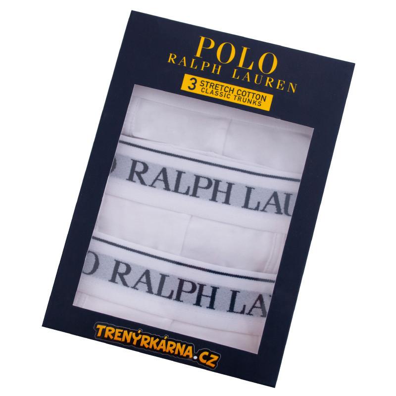71da3771e4 3PACK pánské boxerky Ralph Lauren bílé (714513424001)
