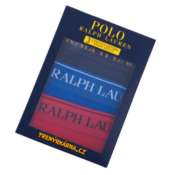 3PACK pánské boxerky Ralph Lauren vícebarevné (714713772003)