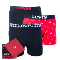 3PACK pánské boxerky Levis vícebarevné (985023001 186)