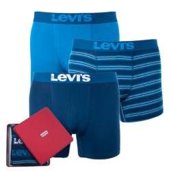 3PACK pánské boxerky Levis vícebarevné (985026001 178)
