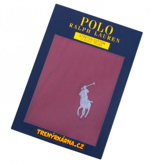 Pánské boxerky Ralph Lauren červené (714707318008)