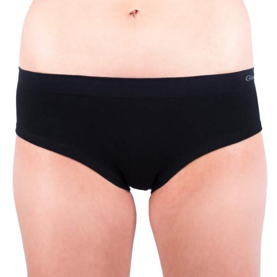 Dámské kalhotky Gina bezešvé černé (04004)