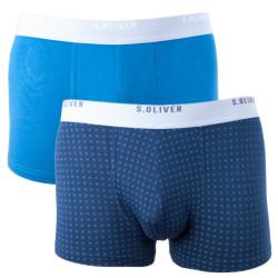 2PACK pánské boxerky S.Oliver modré (26.899.97.4240 17E2)