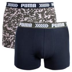 2PACK pánské boxerky Puma vícebarevné (681002001 315)