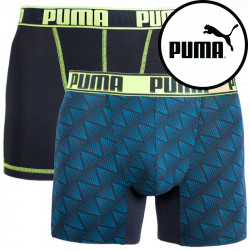 2PACK pánské boxerky Puma sportovní vícebarevné (681007001 233)