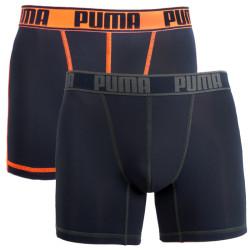 2PACK pánské boxerky Puma sportovní černé (671017001 318)