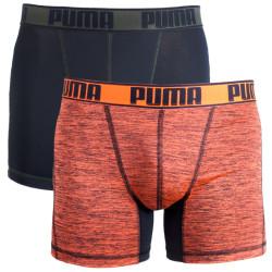 2PACK pánské boxerky Puma sportovní vícebarevné (671018001 318)