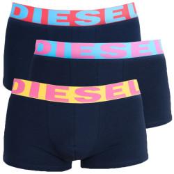 3PACK pánské boxerky Diesel tmavě modré (00SAB2-0GAPG-06)