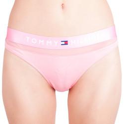 Dámská tanga Tommy Hilfiger růžová (UW0UW00064 665)