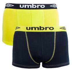 2PACK pánské boxerky Umbro vícebarevné (UM1700D)