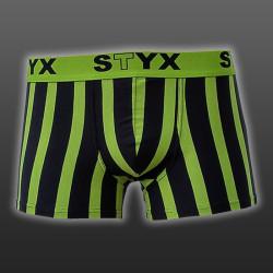 Pánské boxerky Styx sportovní guma nadrozměr vícebarevné (R3)