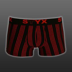 Pánské boxerky Styx sportovní guma nadrozměr vícebarevné (R4)