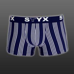 Pánské boxerky Styx sportovní guma nadrozměr vícebarevné (R5)
