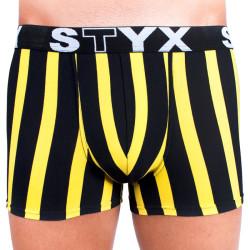 Pánské boxerky Styx sportovní guma nadrozměr vícebarevné (R7)