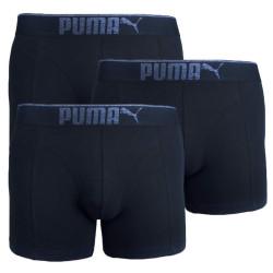3PACK pánské boxerky Puma černé (681030001 200)