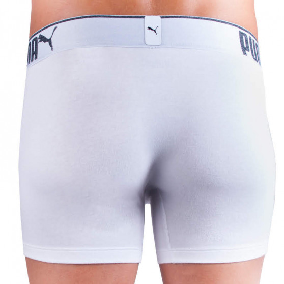 3PACK pánské boxerky Puma bílé (681030001 300)