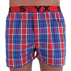 Pánské trenky Styx sportovní guma vícebarevné (B711)